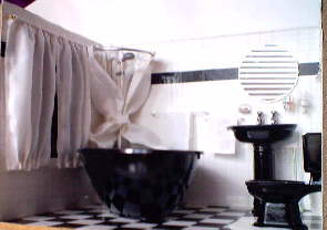 Miniatuur badkamer