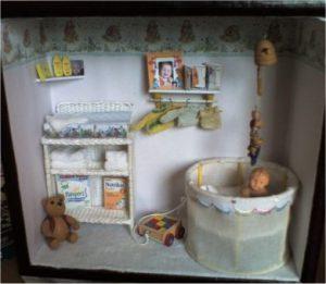 Miniatuur babykamer